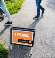 Visning av lägenhet i Stockholm.  Tomas Oneborg/SvD/TT / TT NYHETSBYRÅN