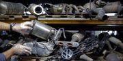 Avgassystem för Volkswagen-bilar. DADO RUVIC / TT NYHETSBYRÅN