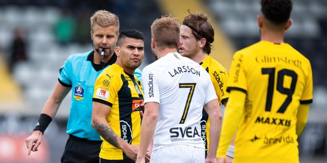 Sebastian Larsson avgjorde på straff. MICHAEL ERICHSEN / BILDBYRÅN