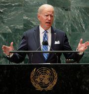 Joe Biden.  EDUARDO MUNOZ / TT NYHETSBYRÅN