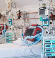 Arkivbild: Förberedda intensivvårdsplatser på sjukhuset i Helsingborg Andreas Hillergren/TT / TT NYHETSBYRÅN