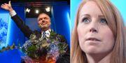 Jan Björklund, Annie Lööf. TT