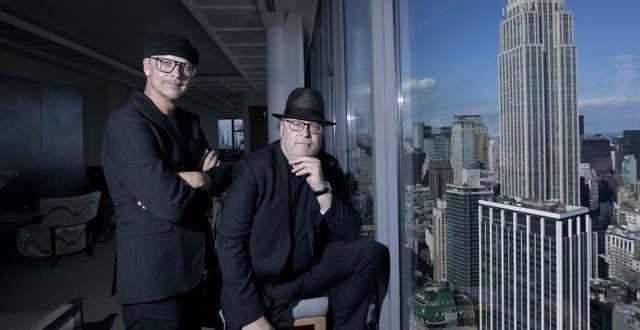 Bröderna Jan och Per Broman, grundare av Fotografiska. Thomas Nilsson/Fotografiska
