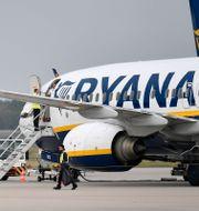 Plan från Ryanair. Martin Meissner / TT NYHETSBYRÅN