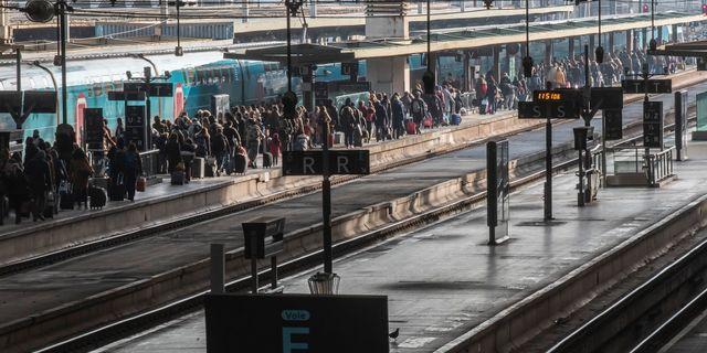 Gare de Lyon, arkivbild Michel Euler / TT NYHETSBYRÅN