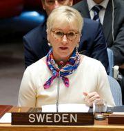 Margot Wallström.  Eduardo Munoz / TT NYHETSBYRÅN