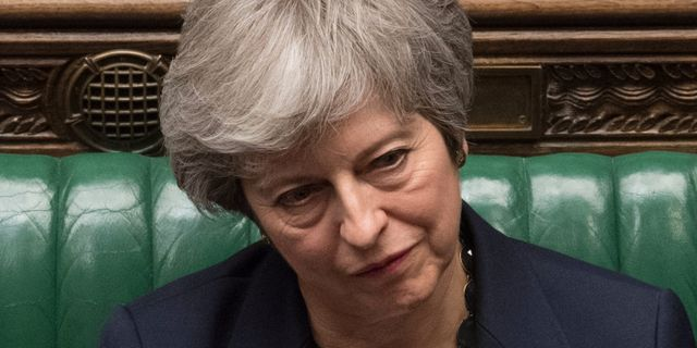 May i parlamentet på onsdagen. MARK DUFFY / UK PARLIAMENT