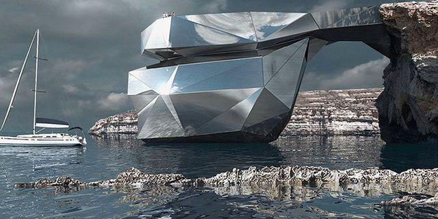 """Stålkonstruktionen """"Maltas hjärta"""" kan ersätta Azure Window. Svetozar Andreev"""