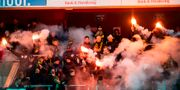 AIK:s publik under kvartsfinalen i svenska cupen mellan Öster och AIK. AVDO BILKANOVIC / BILDBYRÅN