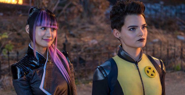 """Illustrationsbild: Shioli Kutsuna och Brianna Hildebrand från Fox-filmen """"Deadpool 2"""". Joe Lederer / TT NYHETSBYRÅN/ NTB Scanpix"""