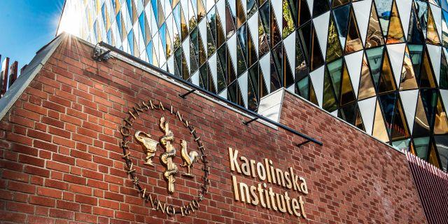 Karolinska Institutet i Solna. Tomas Oneborg/SvD/TT / TT NYHETSBYRÅN