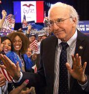 Larry David som Bernie Sanders. SNL
