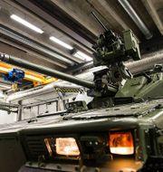 Arkivbild: CV90 som inhandlats av norska försvaret. TT