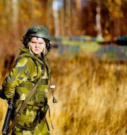 På Norrbottens regemente I 19 i Boden förbereder man sig inför natoövningen Trident Juncture 18. Petra Älvstrand/TT / TT NYHETSBYRÅN