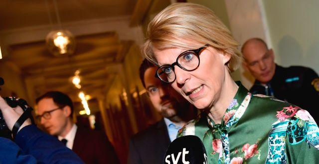 Elisabeth Svantesson, M:s ekonomisk-politiska talesperson. Jonas Ekströmer/TT / TT NYHETSBYRÅN
