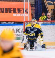 HV71:s målvakt Jonas Gunnarsson MATHIAS BERGELD / BILDBYRÅN