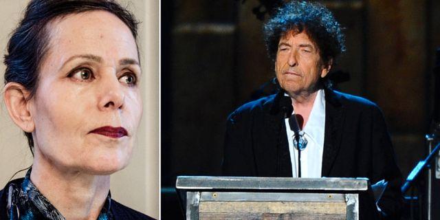 Sara Danius/Bob Dylan. TT