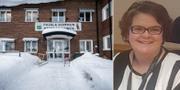 Pajalas kommunhus/kommunstyrelseordförande Ulrica Hammarström (S). TT/Pajala kommun