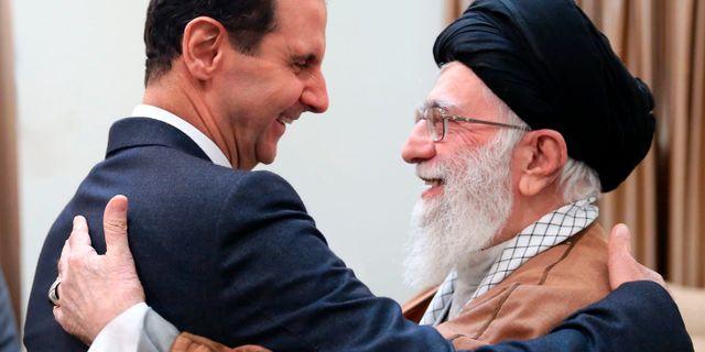 Bashar al-Assad och  TT NYHETSBYRÅN/ NTB Scanpix
