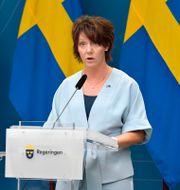 Högskoleminister Matilda Ernkrans.  Anders Wiklund/TT / TT NYHETSBYRÅN