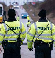 Dansk polis. Johan Nilsson/TT / TT NYHETSBYRÅN