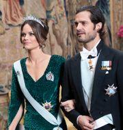 Prinsessan Sofia och prins Carl Philip Fredrik Sandberg/TT / TT NYHETSBYRÅN