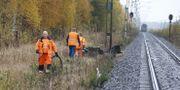 Ett SJ-tåg krockade med en personbil vid en obevakad övergång norr om Boden. Pär Bäckström/TT / TT NYHETSBYRÅN