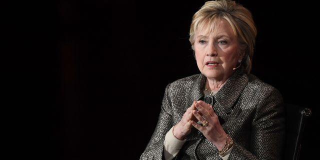 Hillary Clinton. ANGELA WEISS / AFP