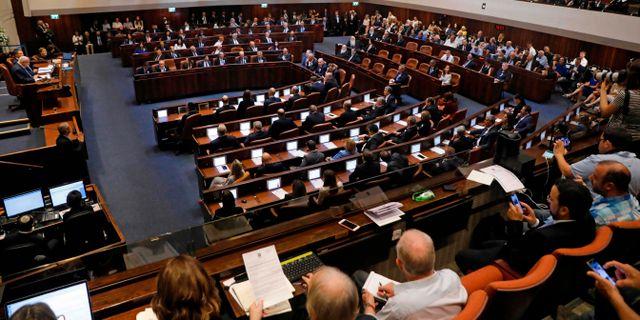 Israels parlament öppnade på torsdagen. MENAHEM KAHANA / AFP