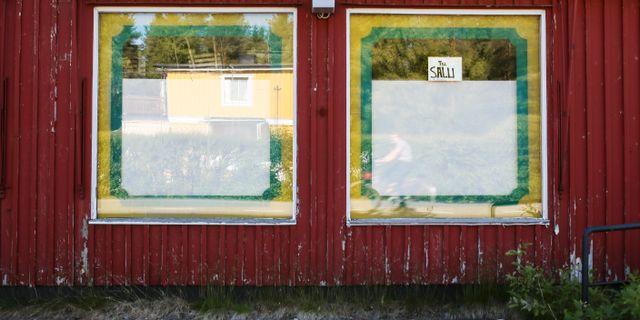 Illustrationsbild på en övergiven lanthandel.  Helena Landstedt / TT / TT NYHETSBYRÅN