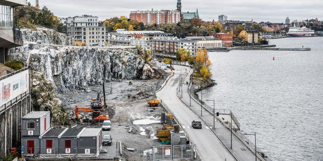 Bostadsbygge på Kvarnholmskajen i Stockholm. Arkivbild. Tomas Oneborg/SvD/TT / TT NYHETSBYRÅN