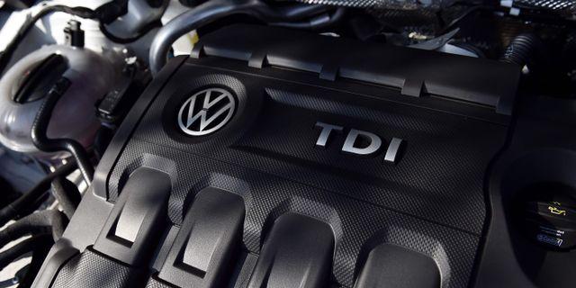 Volkswagen har nått en uppgörelse med USA:s justitiedepartement om att betala motsvarande 39 miljarder kronor för avgasfusket. FRANCK FIFE / AFP