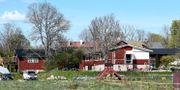 Den numera nedlagda församlingens lokal i Knutby. Pontus Lundahl/TT / TT NYHETSBYRÅN