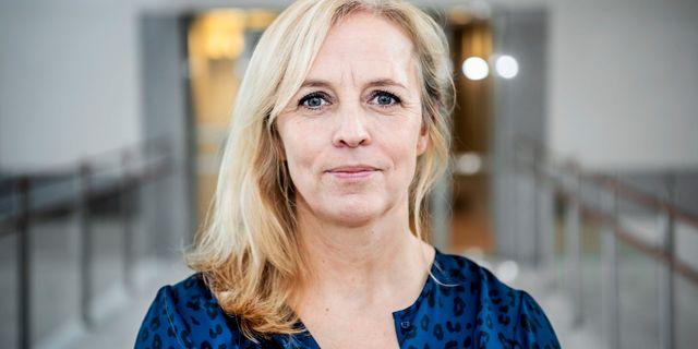 Alexandra Stråberg, chefekonom på Länsförsäkringar. Tomas Oneborg/SvD/TT / TT NYHETSBYRÅN