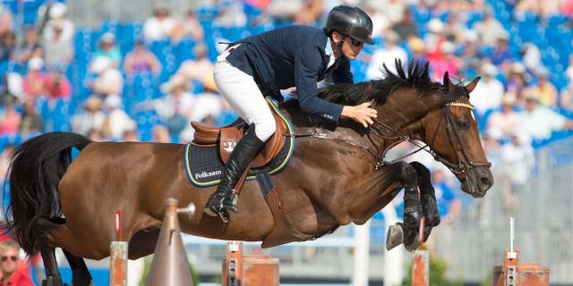 Peder Fredricson på hästen Christian K. Lynn Hey / TT NYHETSBYRÅN/ NTB Scanpix