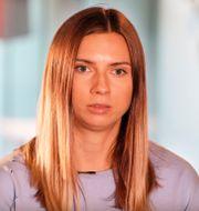 Kristina Timanovskaja. Czarek Sokolowski / TT NYHETSBYRÅN