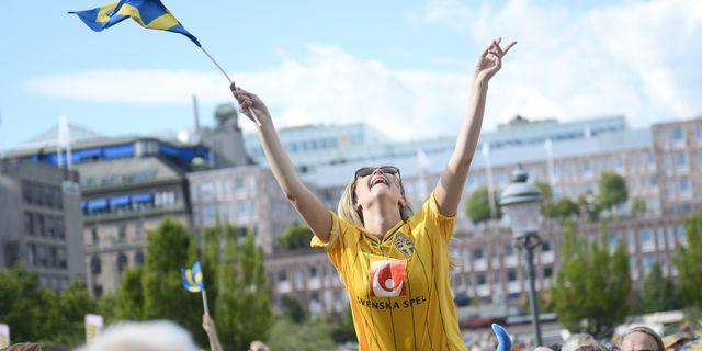Illustrationsbild: Glädje över andra svenska framgångar. Vilhelm Stokstad/TT / TT NYHETSBYRÅN