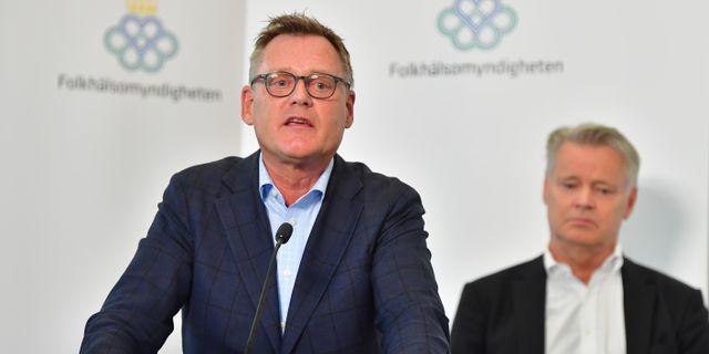 Skolverkets generaldirektör Peter Fredriksson. Jonas Ekströmer/TT / TT NYHETSBYRÅN