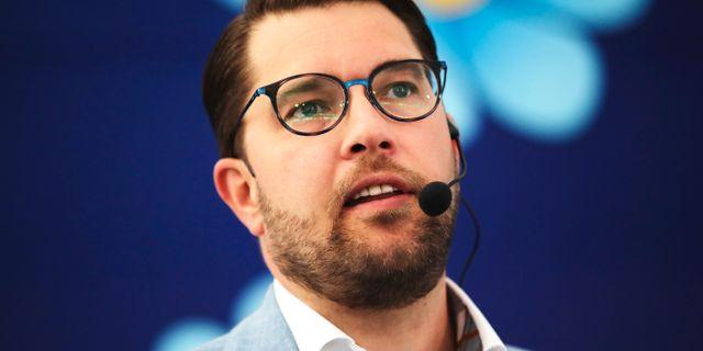 Jimmie Åkesson.  Adam Ihse /TT / TT NYHETSBYRÅN