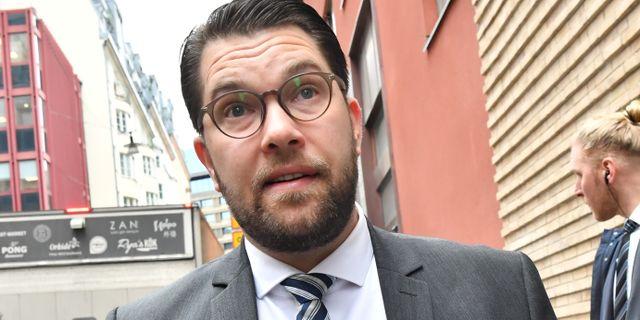 Jimmie Åkesson Jonas Ekströmer/TT / TT NYHETSBYRÅN
