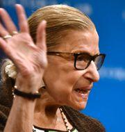 Ruth Bader Ginsburg, arkivbild. NICHOLAS KAMM / AFP