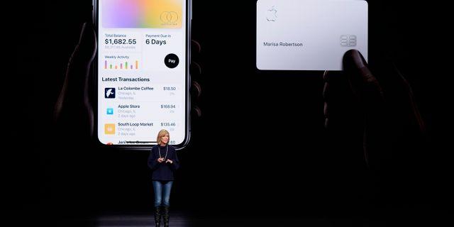Jennifer Bailey, vice vd för Apple Pay. Tony Avelar / TT NYHETSBYRÅN