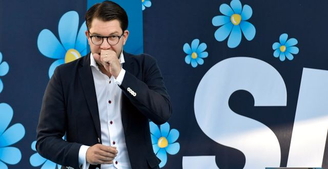 Sverigedemokraternas partiledare Jimmie Åkesson. Arkivbild. Janerik Henriksson/TT / TT NYHETSBYRÅN