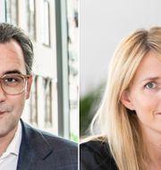 Ali Lorestani/ TT och Lars Pehrson/SvD/TT Sasja Beslik och H&M:s vd Helena Helmersson