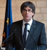 Carles Puigdemont. LLUIS GENE / AFP