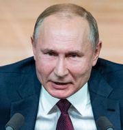 Vladimir Putin. Pavel Golovkin / TT NYHETSBYRÅN