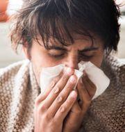 Risken att dö av influensa är större för personer som lider av psykisk ohälsa. isabell Höjman/TT / TT NYHETSBYRÅN