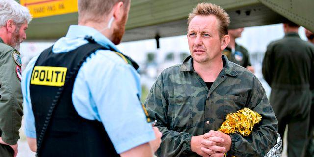 Peter Madsen.  BAX LINDHARDT / Scanpix Denmark