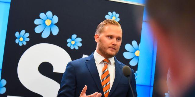 Henrik Vinge. Arkivbild. Hanna Franzén/TT / TT NYHETSBYRÅN
