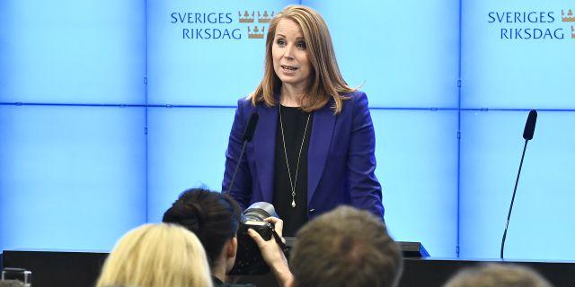 Annie Lööf (C). Claudio Bresciani/TT / TT NYHETSBYRÅN